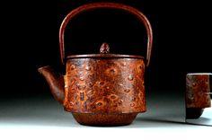 Antique Teapot - Japanese Teapot - Antique Japanese Teapot by JapaVintage on Etsy