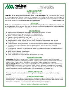 resume certified nursing assistant