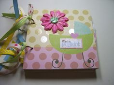 Expecting Mini Album Pregnant Mini Album by HampshireRose on Etsy, $40.00