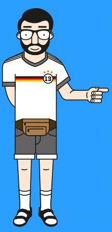 Quiz How German are you? Leider ist es auf Englisch. Aber die Fragen sind leicht zu übersetzen.