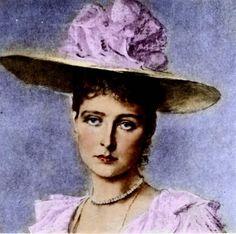 Russian Tsarina Alexandra Romanov (nee Princess Alix of Hesse)