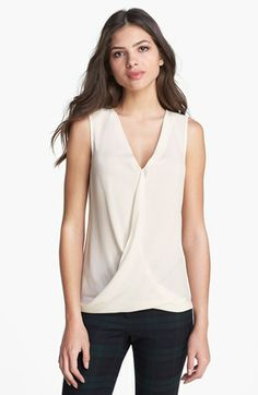 Theory 'Parlier' Silk & Stretch Cotton Blouse | Nordstrom