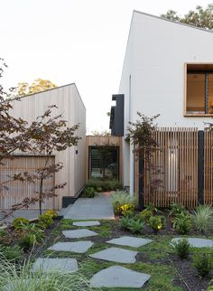 most beautiful modern house architecture design ideas 8 > Fieltro. Design Exterior, Interior And Exterior, Garden Design, House Design, Facade House, Beautiful Homes, Architecture Design, Residential Architecture, Outdoor Living
