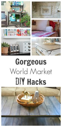 Genius HACKs to make your life easier.  CLICK on the link to find more hacks, tips and tutorials, for your home!