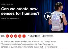 E' possibile acquistare un nuovo senso? / Can we create new senses for humans?