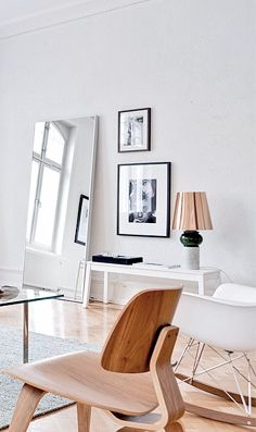 Via Trendenser | Eames Lounge Chair Wood and Rocker