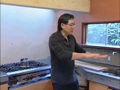 Our most popular countertop video, expert designer Fu-Tung Cheng discusses kitchen countertop design ideas and information on including various materials including would, tile, and granite.  ConcreteNetwork.com