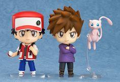(312) Nendoroid Pokémon Trainer Red & Green | Pokemon | Good Smile Company | SailorMeowMeow