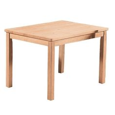 Whitewood Juvenile Unfinished Mission Table - Natural