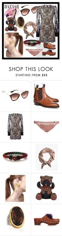 """fashion for your choice"" by denisee-denisee ❤ liked on Polyvore featuring Bela, Prada, Brooks Brothers, Alexander McQueen, SHE MADE ME, Aurélie Bidermann, Sylvio Giardina, Myriam Maxo, Konstantino and Fendi"