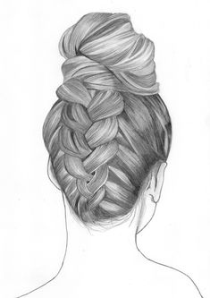 hairstyle draw drawing drawings sketch pencil sketches deviantart reference