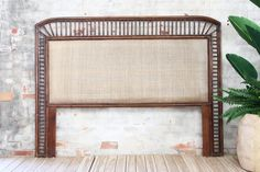 All bedhead sizes. Cane Furniture, Wicker Patio Furniture, Wicker Sofa, Furniture Making, Rattan, Furniture Design, Outdoor Sofa Sets, Bedhead, British Colonial