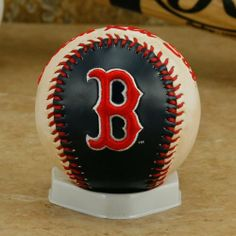 Rawlings Boston Red Sox Embroidered Team Logo Collectible Baseball by Rawlings. $9.95. Quality embroidery. Officially licensed MLB product. Display stand included. Imported. Team logo and colors. This collectible baseball from Rawlings is perfect for display or scoring your favorite Red Sox player's autograph! This regulation-size baseball features an embroidered team name and logo, a team-colored panel, a weathered panel for an antique look, and a home plate displa...