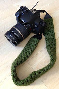 Make: Crochet camera strap cover                                                                                                                                                                                 More