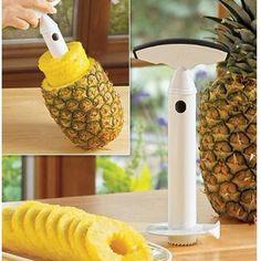 Utensílios de cozinha fruta abacaxi cortador de corer fatiador descascador