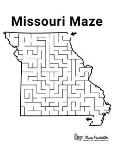 Mazes For Kids Printable, Free Printables, Activity Sheets For Kids, State Game, Paper Puppets, Teaching Supplies, Schools First, Word Games, Home Schooling