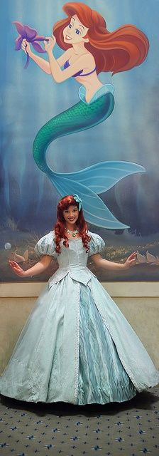 """Wish I could be part of your world"" - Ariel"