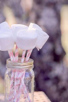 Les moineaux de la mariée: Gourmandises… guimauve