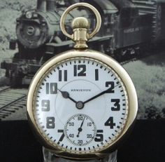 Men's 1934 Hamilton Railroad Pocket Watch | Strickland Vintage Watches