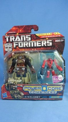 Transformers Power Core Combiners STEELSHOT with BEACON New MOSC 2010