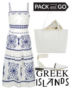 """""""pack and go: Greek islands"""" by j-n-a ❤ liked on Polyvore featuring Senso, Monsoon, Ted Baker, Packandgo and greekislands"""