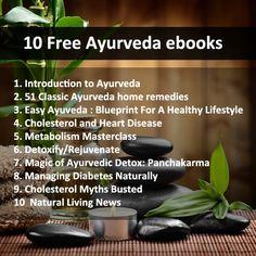 10 Free Ayurveda ebooks to download ==>