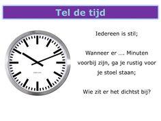 Ben jij je heel bewust van de tijd?