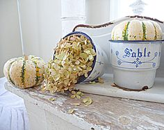 Shabby french for me: ~ French Inspired Autumn Vignette ~