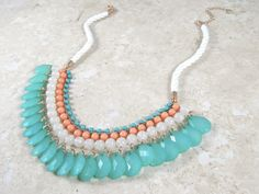 """""""Breezy Swing Necklace"""" A first look at what's to come from the 5th & Market Summer 2015 Collection"""