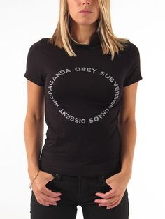 Voucher T-Shirt for women by Obey
