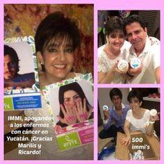 Apoyando a Immi y a los enfermos de cáncer en Yucatán