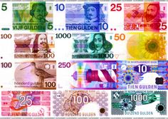 Dutch money before the Euro. Good Old Times, The Good Old Days, Old Money, E 10, Sweet Memories, My Memory, Vintage Posters, Childhood Memories, Netherlands