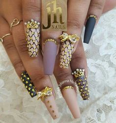♠Pinterest@gigi8869♦ don't forget to follow for more nails✌