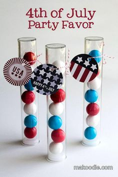 DIY 4th of July Party Favor