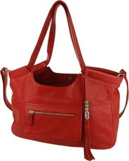 The Lily Jade Caroline shoulder diaper / handbag - available in 3 shades of soft leather with 16 functional pockets
