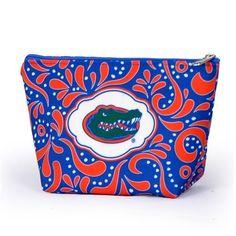Florida Gators 3 x 8.5 x 6 Orange /& Blue Purse