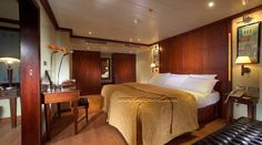 Kon Tiki Nile cruise is a deluxe 5 stars floating hotel. The cruise ship sails on the Nile river between Luxor and Aswan cities in Egypt. It designed for