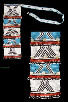 South Africa | Necklace from the Xhosa people of the eastern Cape region | Glass bead, string and buttons | ca. 1960s/70s | 90$