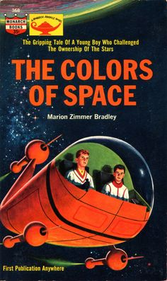 What makes this sci-fi isn't their surroundings, space, it's... where do they, you know, go to take a whiz?  For that matter where are their legs!  It's still nice and nostalgic, by Ralph Brillhart.