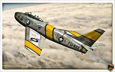 F-86 Sabre by ~rOEN911 on deviantART