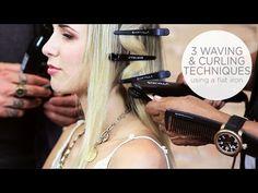 flatiron hair style2 - YouTube