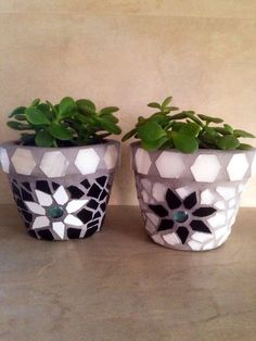 A personal favorite from my Etsy shop https://www.etsy.com/listing/251132061/mosaic-succulent-planters-small-flower