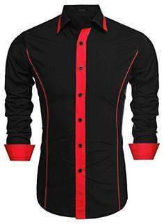 Coofandy Men's Fashion Slim Fit Turn Down Collar Long Sle... http://www.amazon.com/dp/B01EFQ0AZE/ref=cm_sw_r_pi_dp_rkNrxb1XYADH1