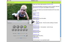 Video. Text. Together at last...  Simple Software for Transcription and Subtitling.  Great tool for Oral Historians, Film makers and Researchers.