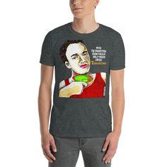 Quentin Tarantino T-Shirt - Dark Heather / 2XL