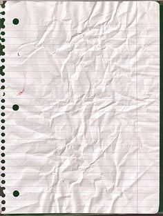 Crinkled Lined Paper by kizistock on DeviantArt Overlays, Instagram Background, Notebook Paper, Writing Paper, Wallpaper Backgrounds, Wallpapers, Paper Texture, Textured Background, Collage Art