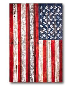 Another great find on #zulily! Liberty For All Wrapped Canvas #zulilyfinds