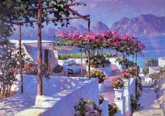 Сиреневый цвет в живописи Howard Behrens - Ярмарка Мастеров - ручная работа, handmade
