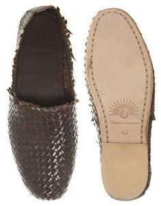 Enlarge H By Hudson Cozumel Woven Slip-On Shoes