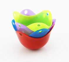 Newest Silicone Egg Poacher BPA free and FDA Approved 4 Pack Egg Cups Cookware Microwave Egg Cooker No need for Egg Rings or Egg Boiler >>> Check out the image by visiting the link. (This is an affiliate link) Egg Poacher Cups, Silicone Egg Poacher, Microwave Eggs, Egg Rings, Specialty Cookware, Egg Cups, Raising Chickens, Boiler, Poached Eggs